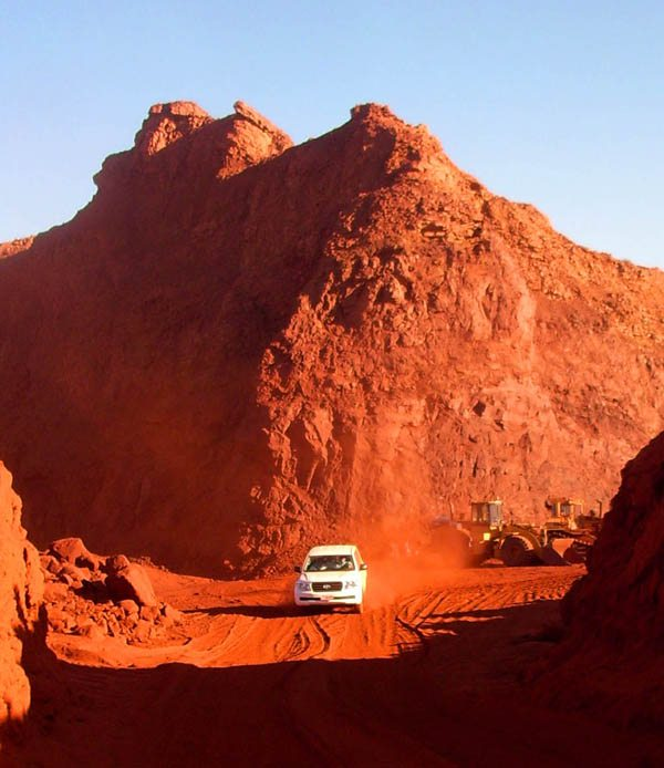 Oman Laterite Mine